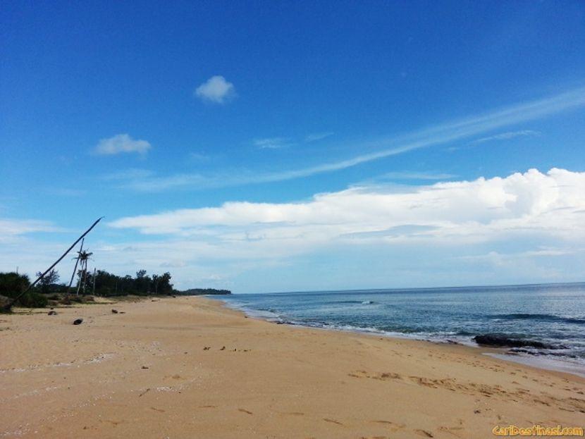 pantai dungun yang cantik