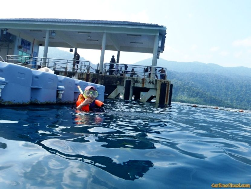 snorkeling scuba diving tioman