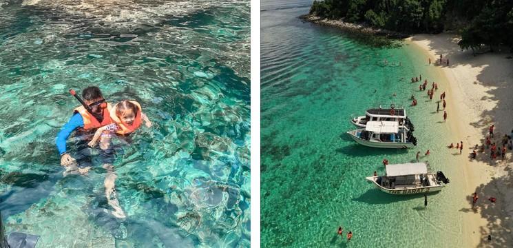 snorkeling pulau tioman