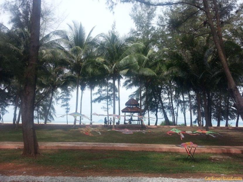 tempat rekreasi besut pantai terengganu