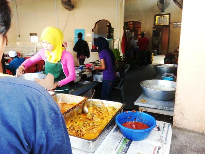 tempat makan menarik kb nasi