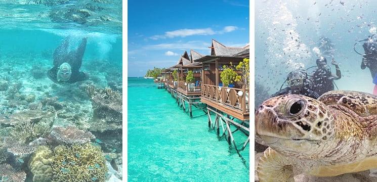 pulau mabul sabah semporna