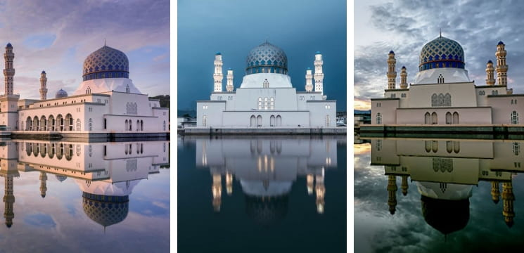 masjid menarik kota kinabalu