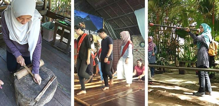 Perkampungan kebudayaan Monsopiad kota kinabalu