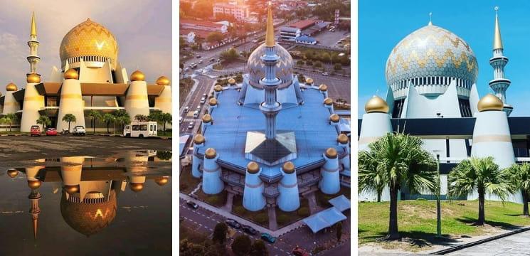 masjid negeri sabah kk