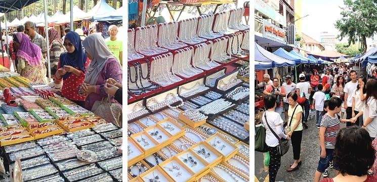 pasar minggu di kota kinabalu