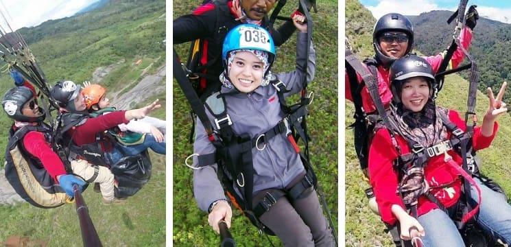 ranau paragliding sabah