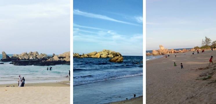 pantai betunjuk kijal beach