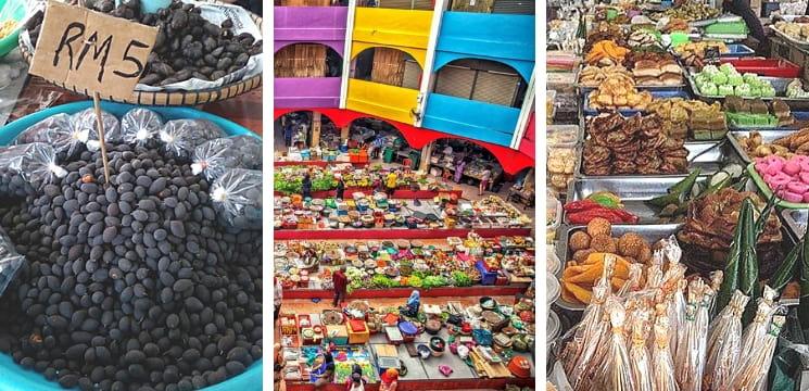 pasar siti khadijah kota bharu