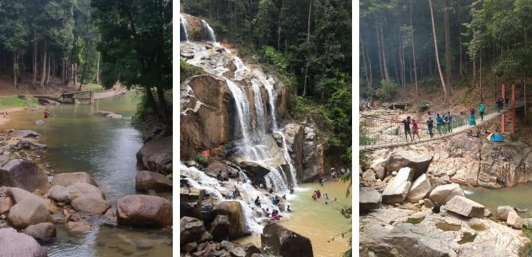 air terjun sungai pandan kuantan waterfall