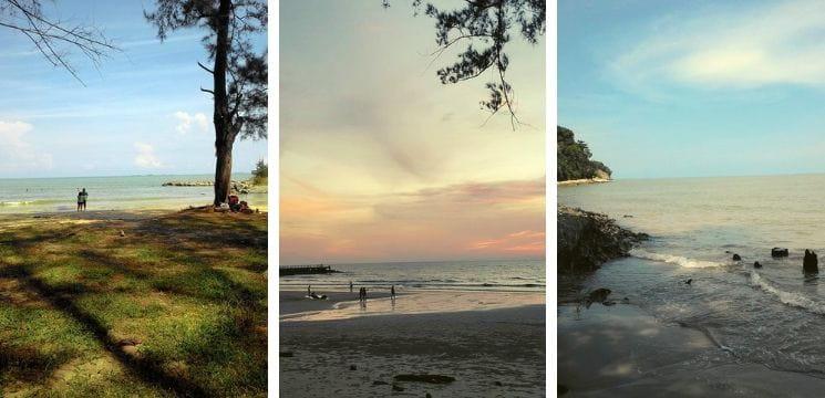 pantai tanjung lobang miri