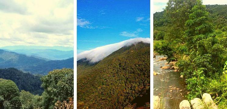 gunung murud miri sarawak