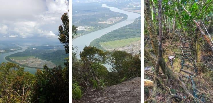 gunung santubong kuching sarawak