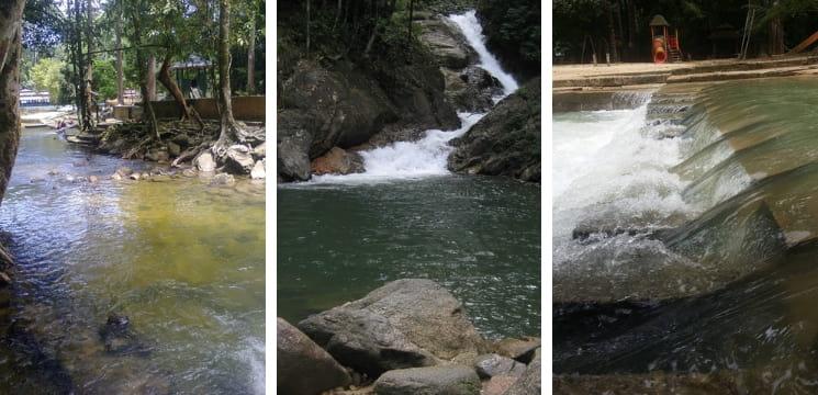 jeram linang kelantan waterfall
