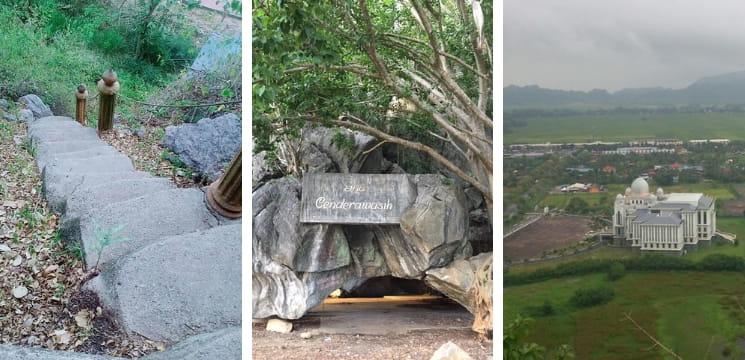bukit cenderawasih gua sami