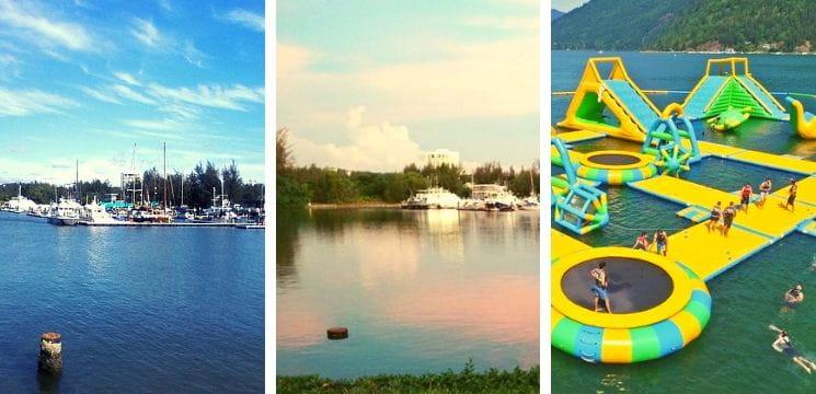 water park marina bay miri