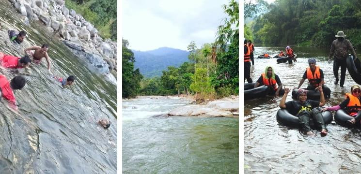 sungai cenerong dabong kelantan