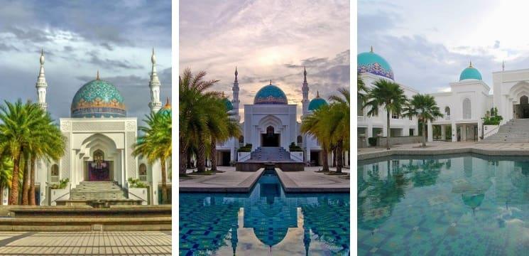 masjid menarik alor setar kedah