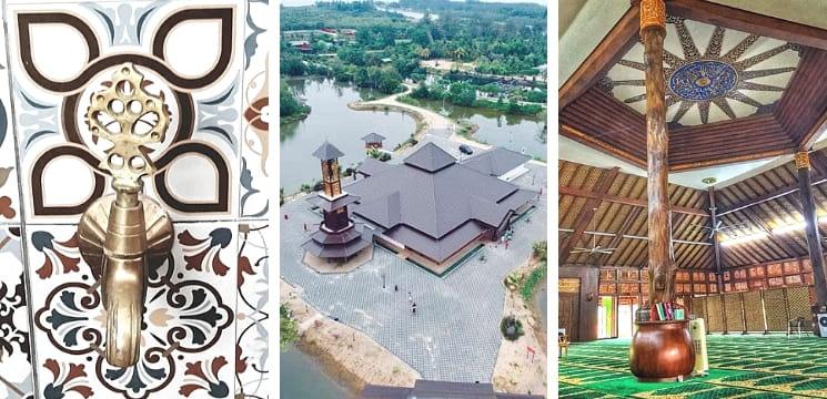 tempat menarik kota bharu kelantan masjid