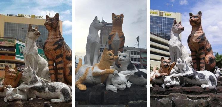 mercu tanda kuching sarawak