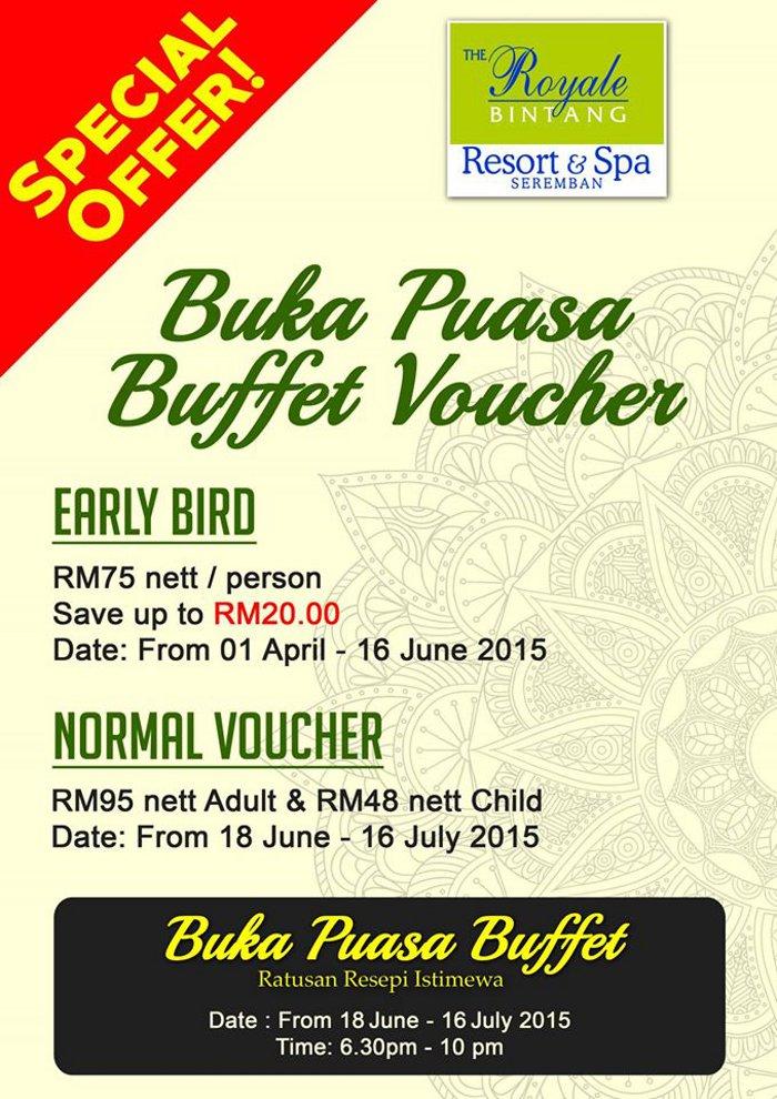 buffet ramadhan 2015 seremban promosi