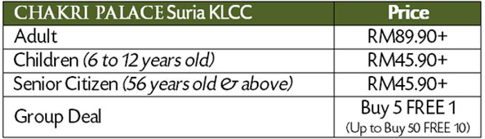 buffet ramadhan murah KLCC 2015