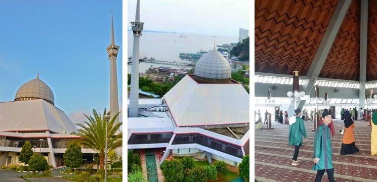masjid daerah sandakan sabah