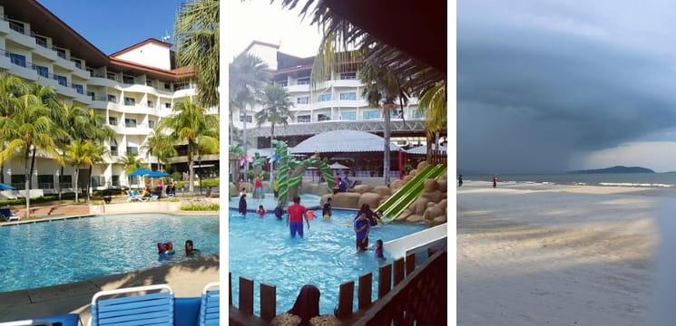 resort tepi pantai menarik di kuantan