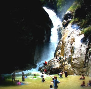 air terjun jeriau fraser hill