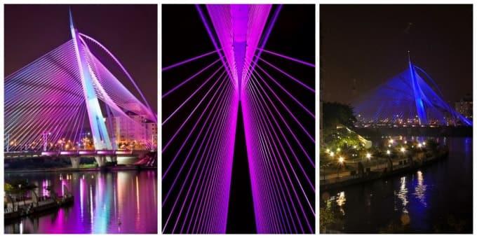 jambatan putrajaya yang menarik