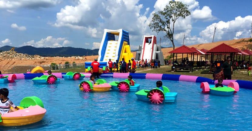 aktiviti kanak kanak kenyir lake