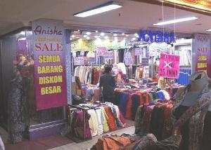 pasar baru bandung indonesia