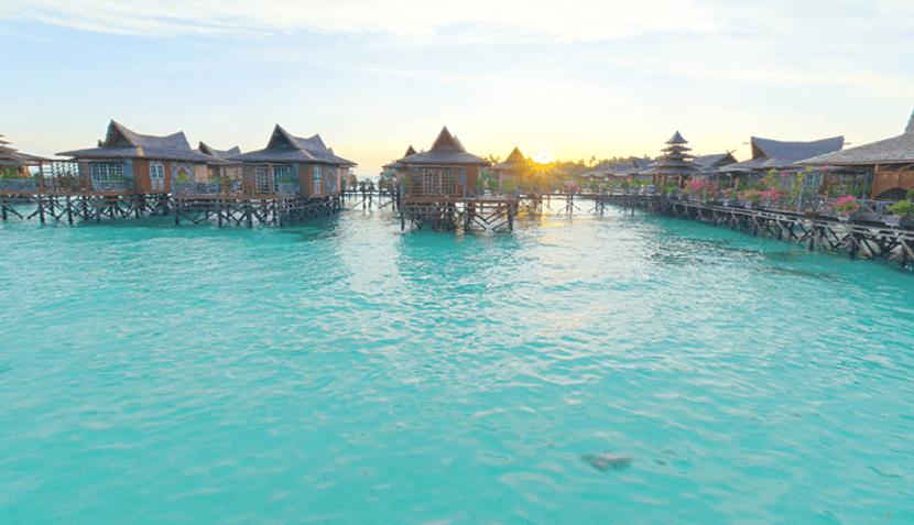 pulau mabul di sabah malaysia