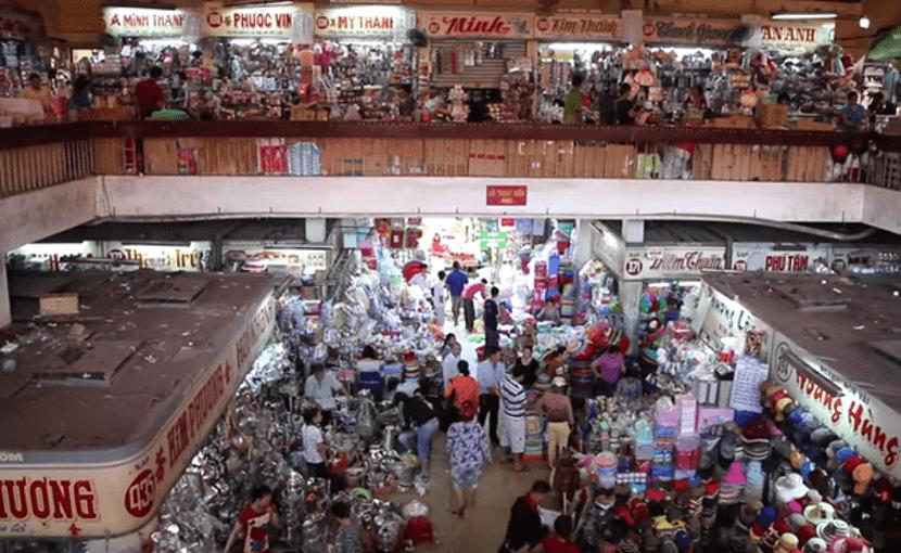 tempat shopping di vietnam yang best