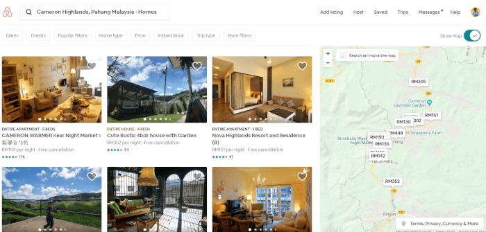 cara daftar airbnb malaysia