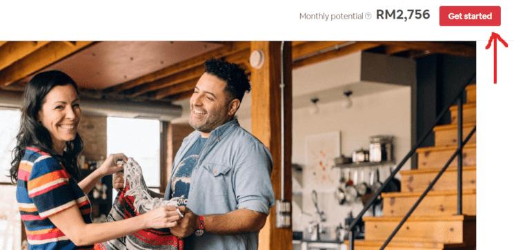 bagaimana nak buat homestay airbnb