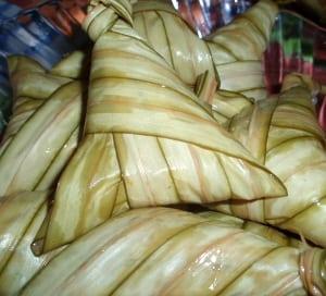 ketupat daun palas kelantan