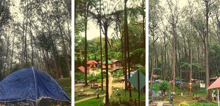 tempat camping brinchang