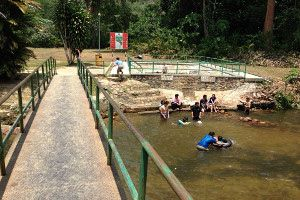 kolam air panas selangor best