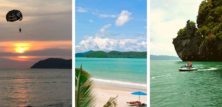 pantai chenang pulau langkawi