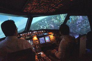 Sim flight KL