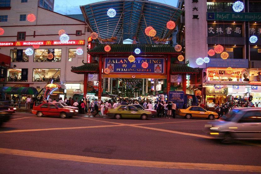 petaling street shopping kl