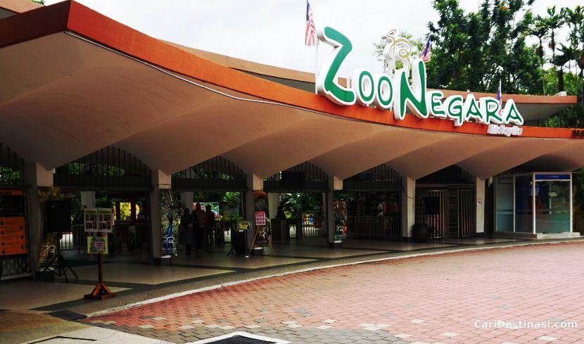 harga tiket zoo negara 2017 terkini