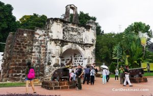 Kota A Famosa – Ikon Pelancongan Negeri Melaka