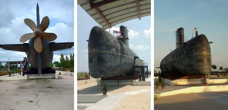 muzium kapal selam klebang melaka