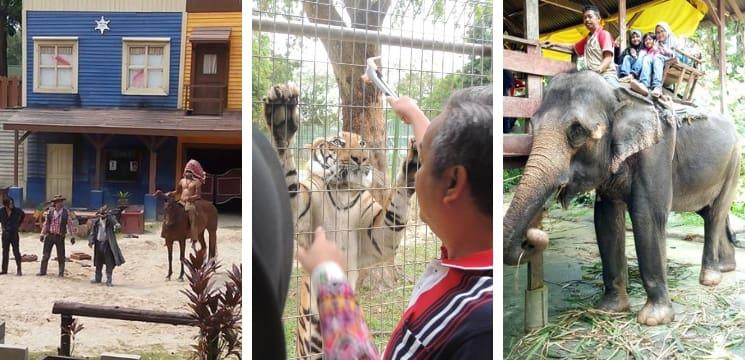zoo di melaka menarik