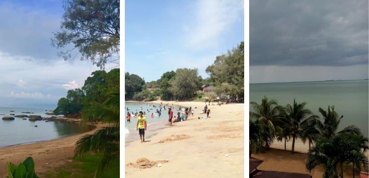 pantai popular di Melaka