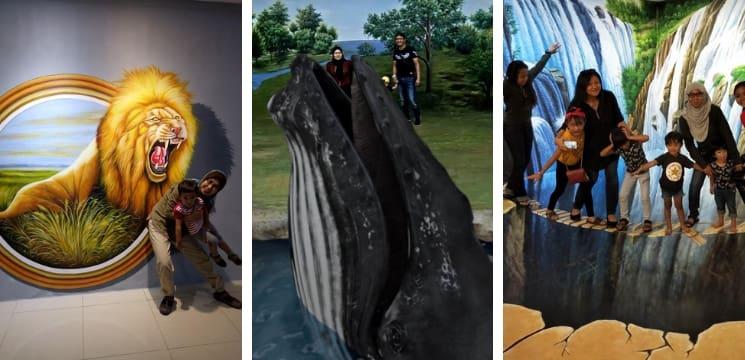 muzium 3d melaka menarik