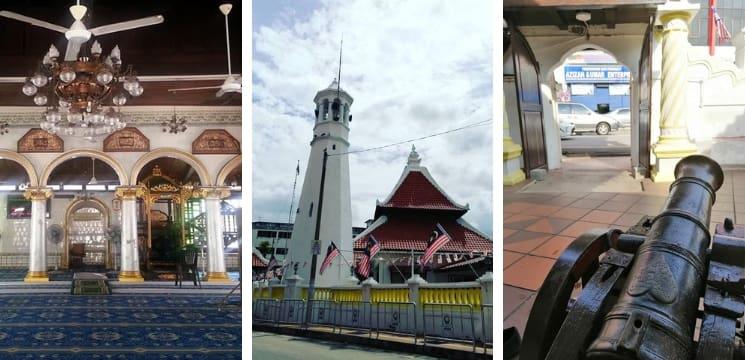 masjid kampung hulu bandar hilir melaka