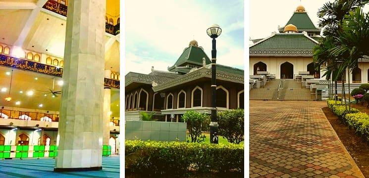 masjid negeri melaka al azim